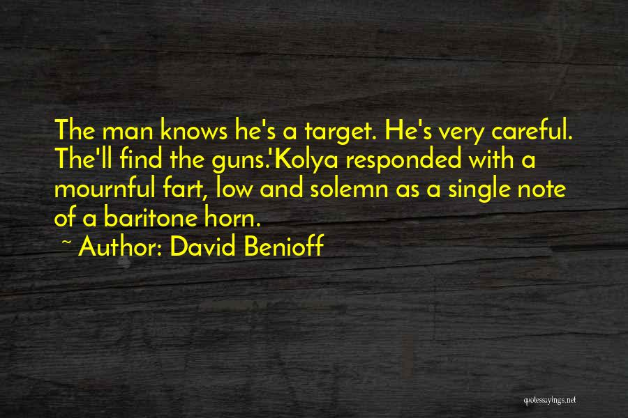 Target Quotes By David Benioff