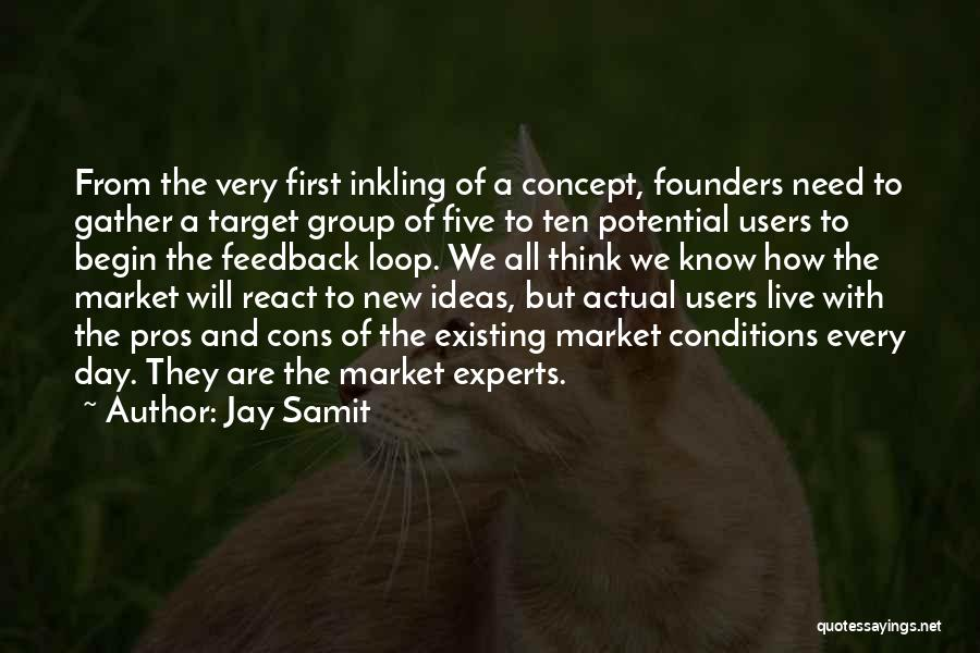 Target Quotes By Jay Samit