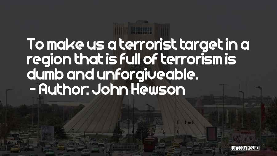 Target Quotes By John Hewson