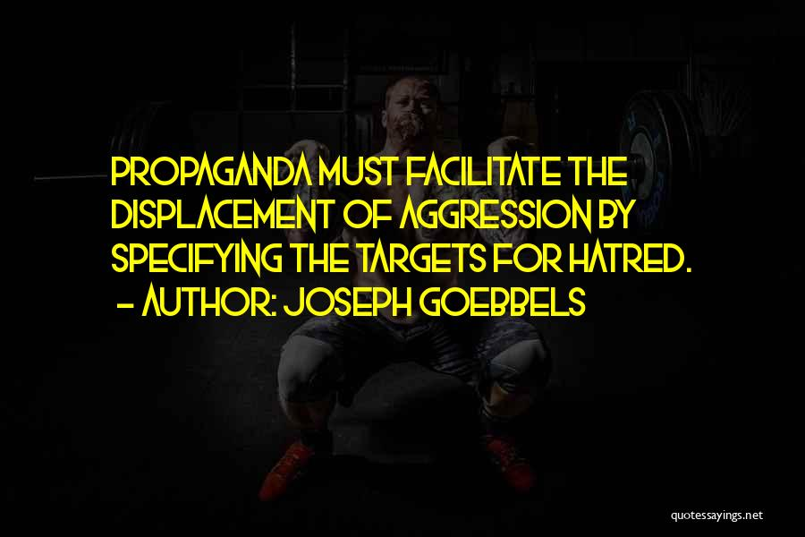 Target Quotes By Joseph Goebbels