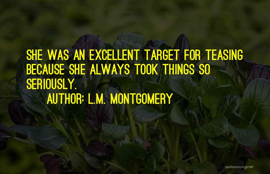 Target Quotes By L.M. Montgomery