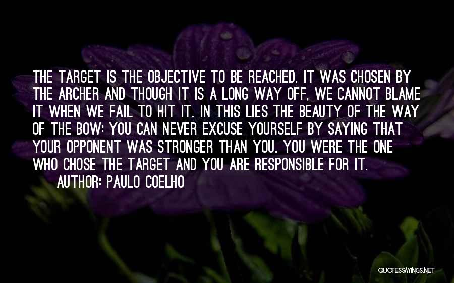 Target Quotes By Paulo Coelho