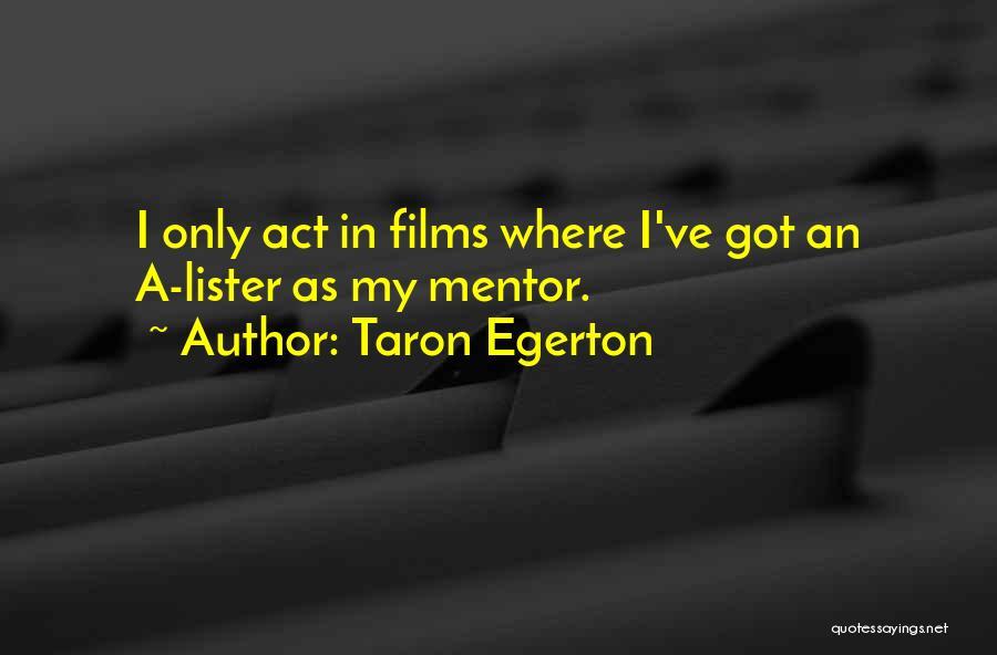 Taron Egerton Quotes 1328048