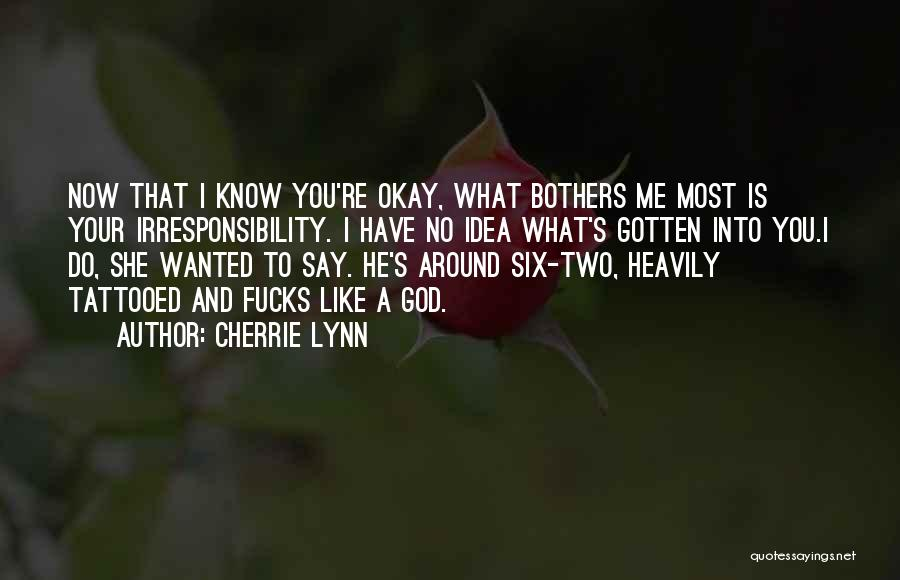 Tattooed Quotes By Cherrie Lynn