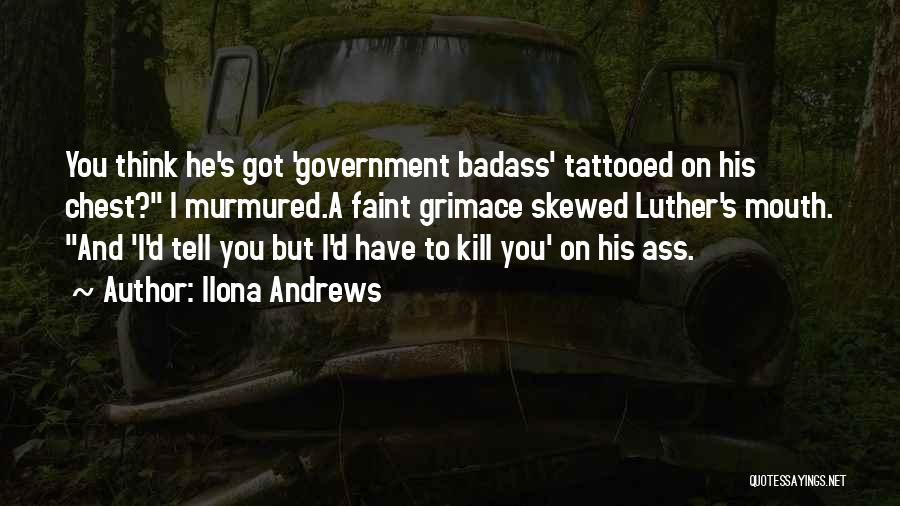 Tattooed Quotes By Ilona Andrews