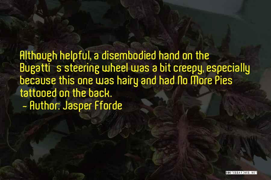 Tattooed Quotes By Jasper Fforde