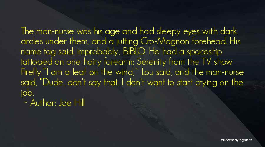 Tattooed Quotes By Joe Hill
