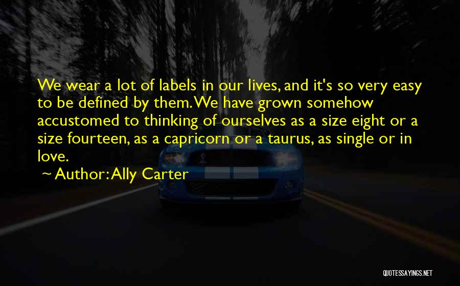 Taurus Quotes By Ally Carter