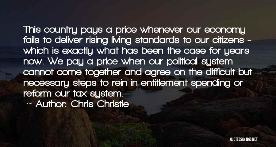 Tax Reform Quotes By Chris Christie