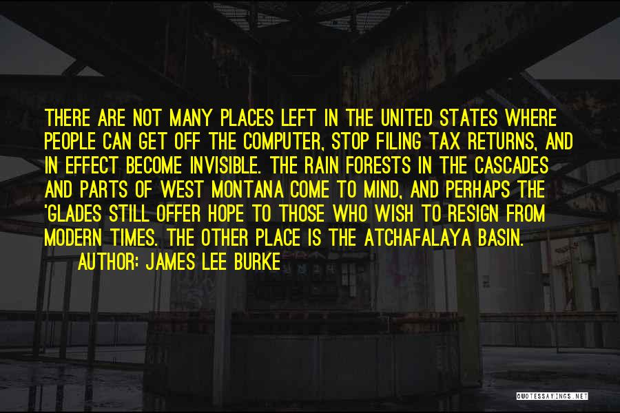 Tax Returns Quotes By James Lee Burke