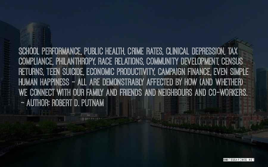 Tax Returns Quotes By Robert D. Putnam