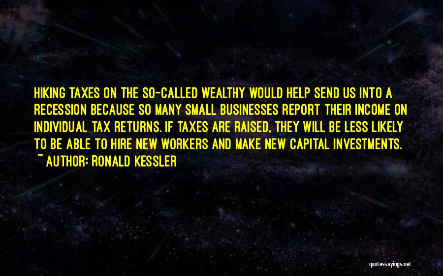 Tax Returns Quotes By Ronald Kessler