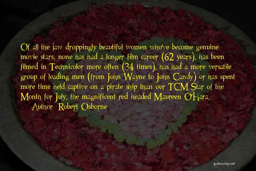 Tcm Movie Quotes By Robert Osborne