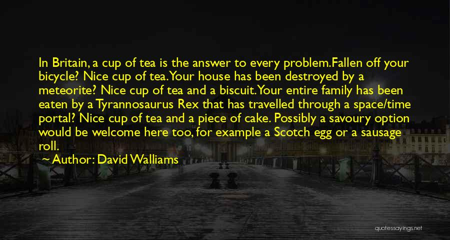 Tea House Quotes By David Walliams