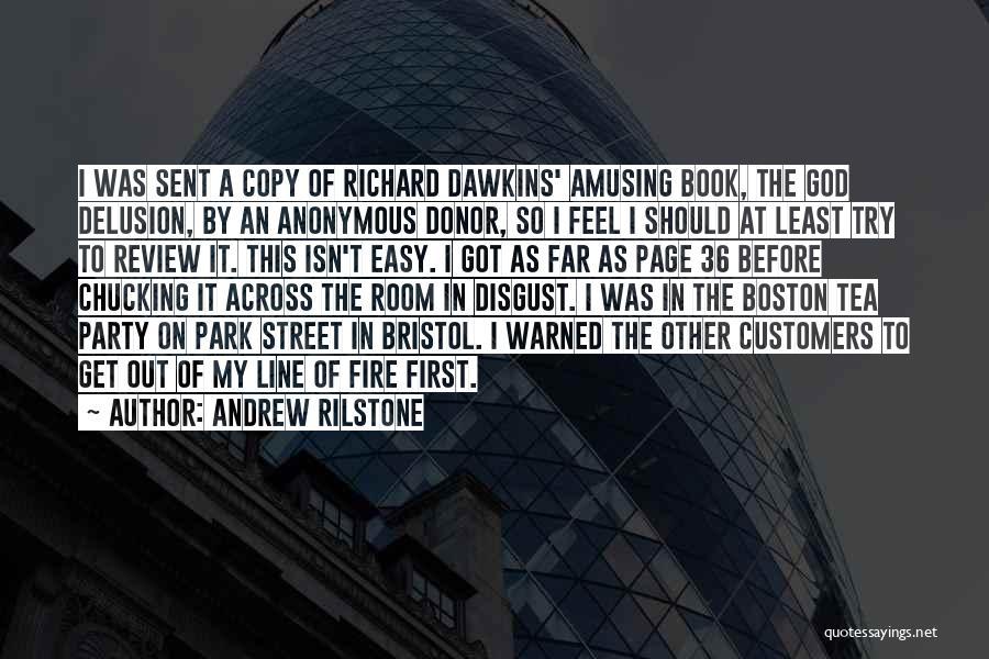 Tea Room Quotes By Andrew Rilstone
