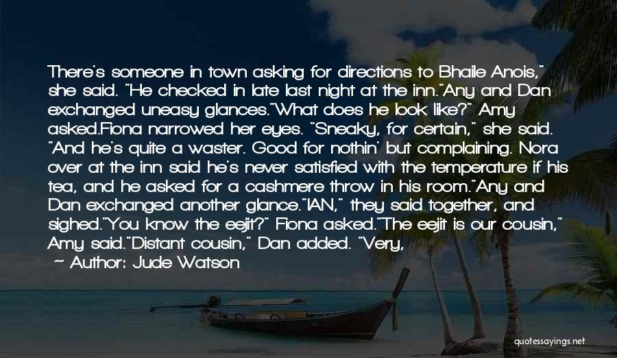 Tea Room Quotes By Jude Watson