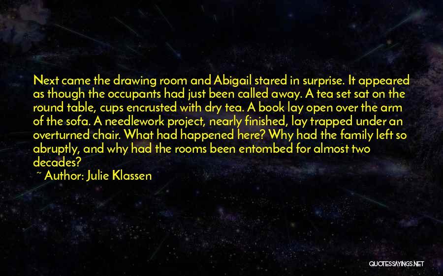 Tea Room Quotes By Julie Klassen