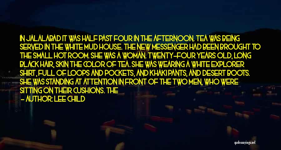 Tea Room Quotes By Lee Child