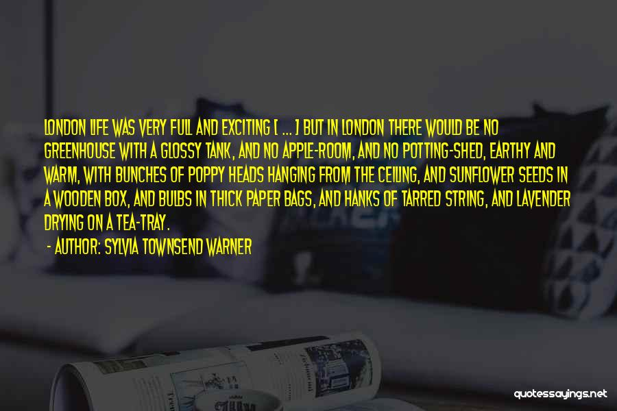 Tea Room Quotes By Sylvia Townsend Warner