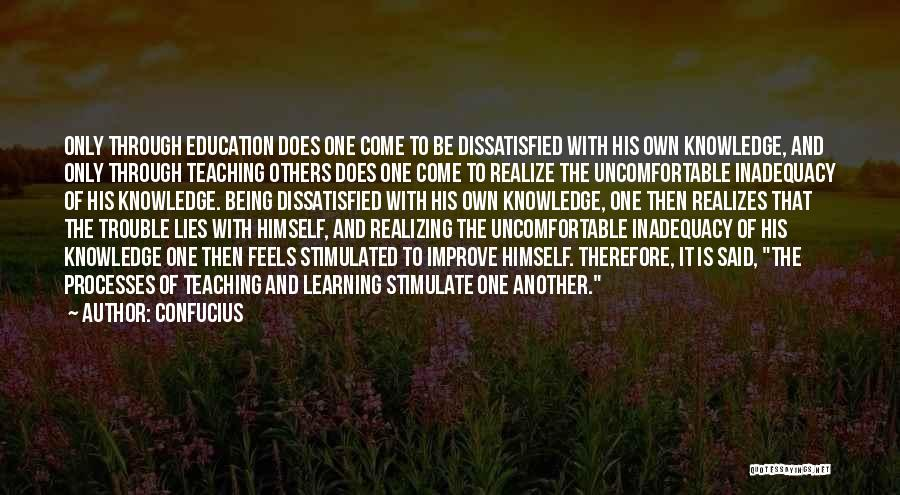 Teaching Learning And Education Quotes By Confucius