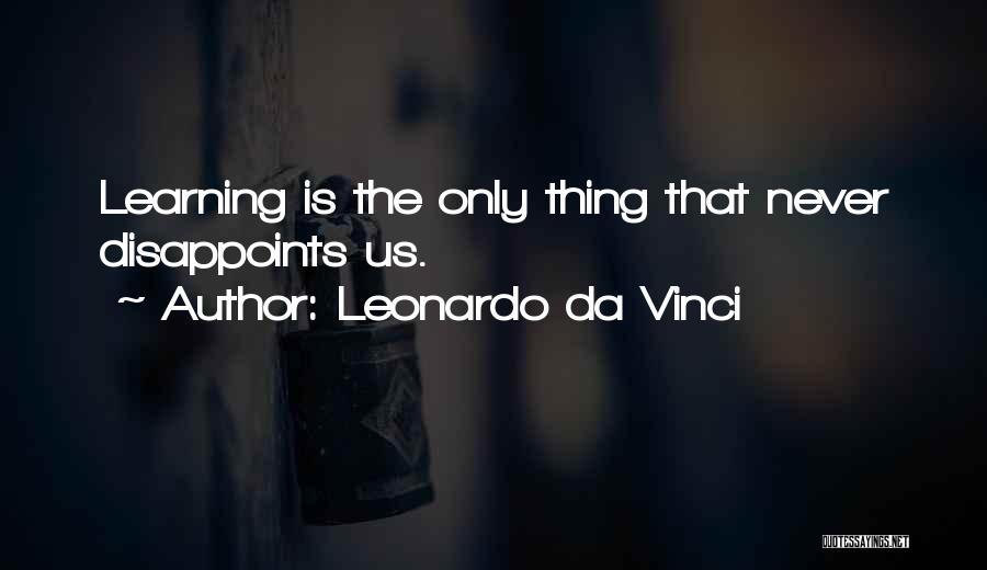 Teaching Learning And Education Quotes By Leonardo Da Vinci