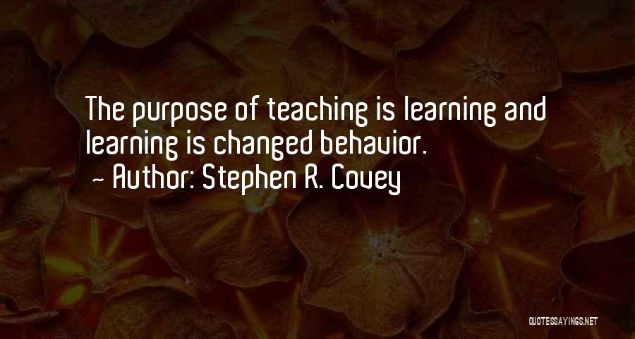 Teaching Learning And Education Quotes By Stephen R. Covey