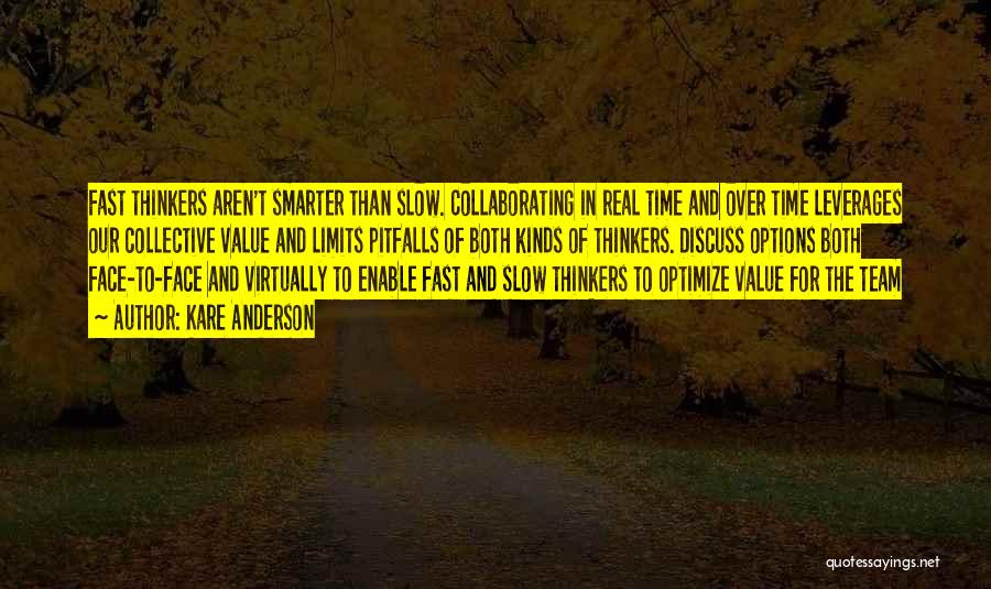 Team And Collaboration Quotes By Kare Anderson