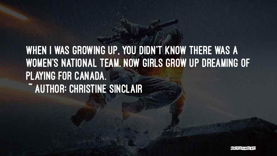 Team Canada Quotes By Christine Sinclair