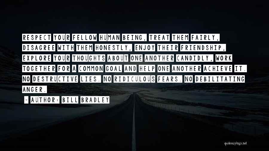 Teamwork Quotes By Bill Bradley