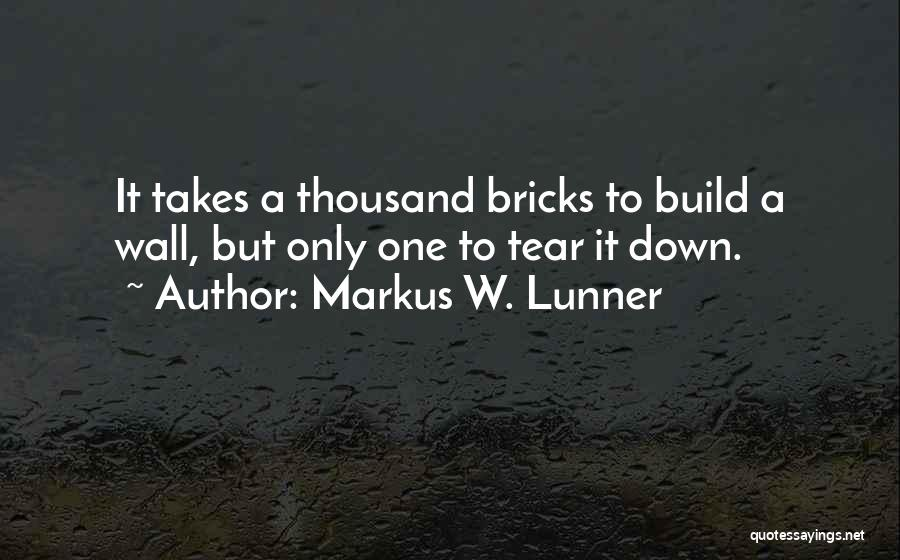 Teamwork Quotes By Markus W. Lunner