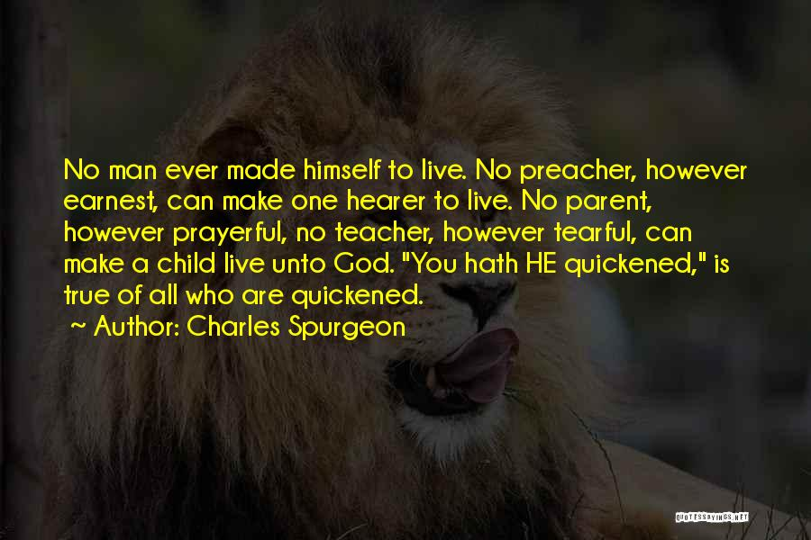 Tearful Quotes By Charles Spurgeon
