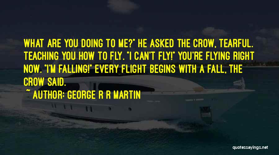 Tearful Quotes By George R R Martin