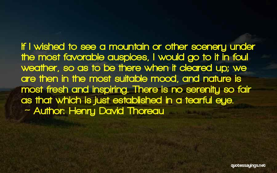 Tearful Quotes By Henry David Thoreau