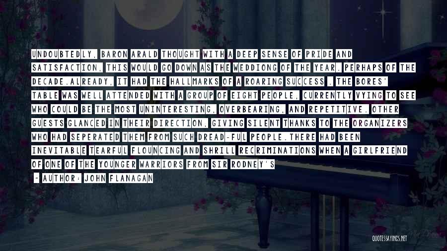Tearful Quotes By John Flanagan