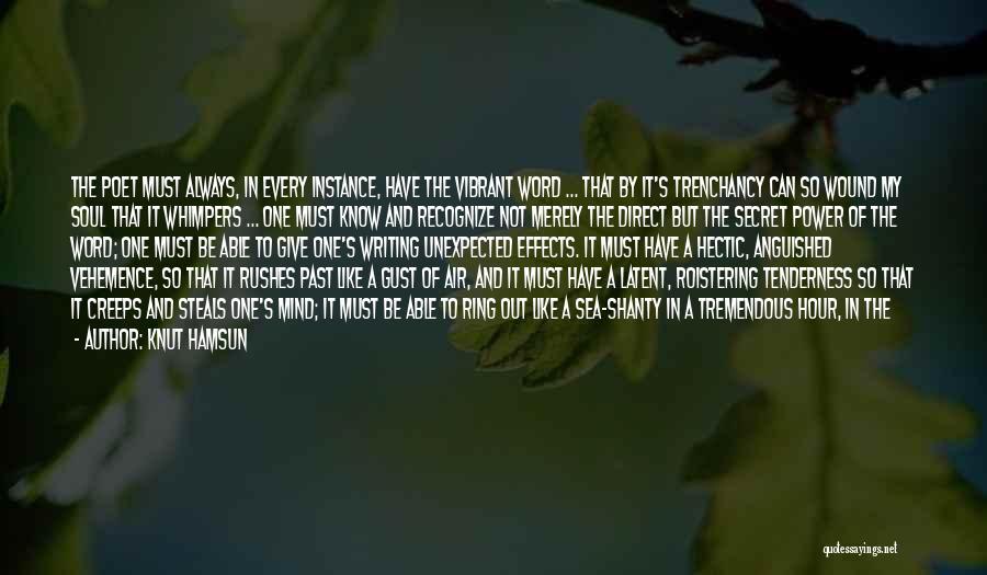 Tearful Quotes By Knut Hamsun