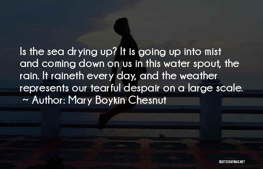Tearful Quotes By Mary Boykin Chesnut