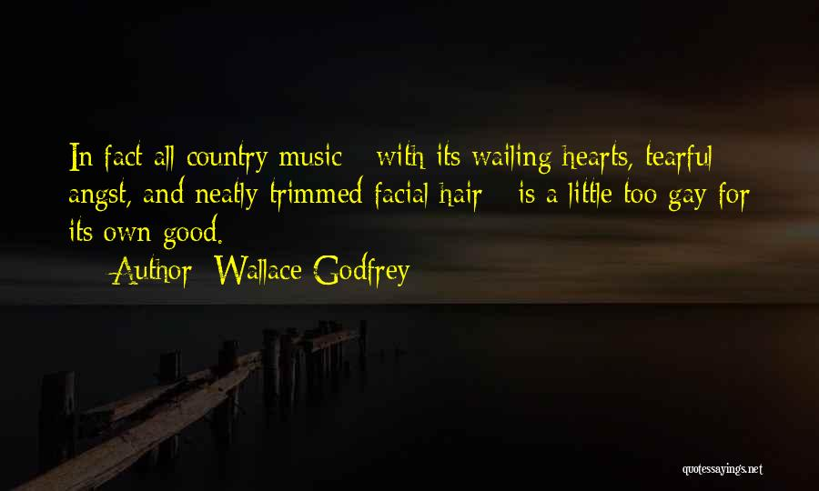Tearful Quotes By Wallace Godfrey