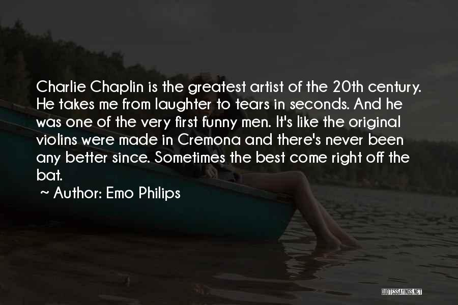 Tears And Laughter Quotes By Emo Philips