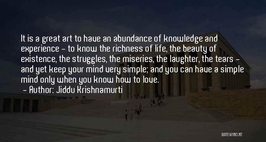 Tears And Laughter Quotes By Jiddu Krishnamurti