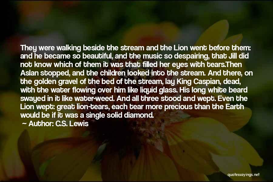 Tears Flowing Quotes By C.S. Lewis