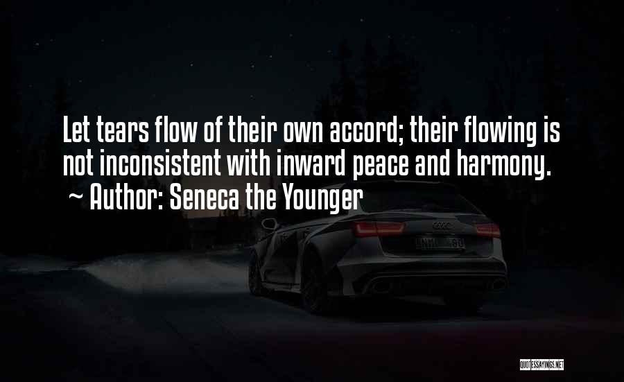 Tears Flowing Quotes By Seneca The Younger