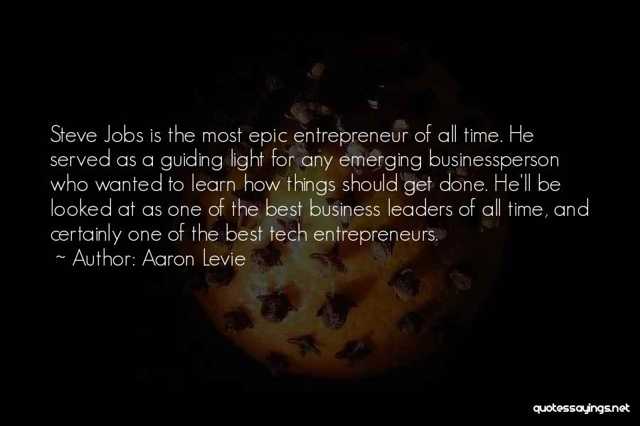 Tech Quotes By Aaron Levie