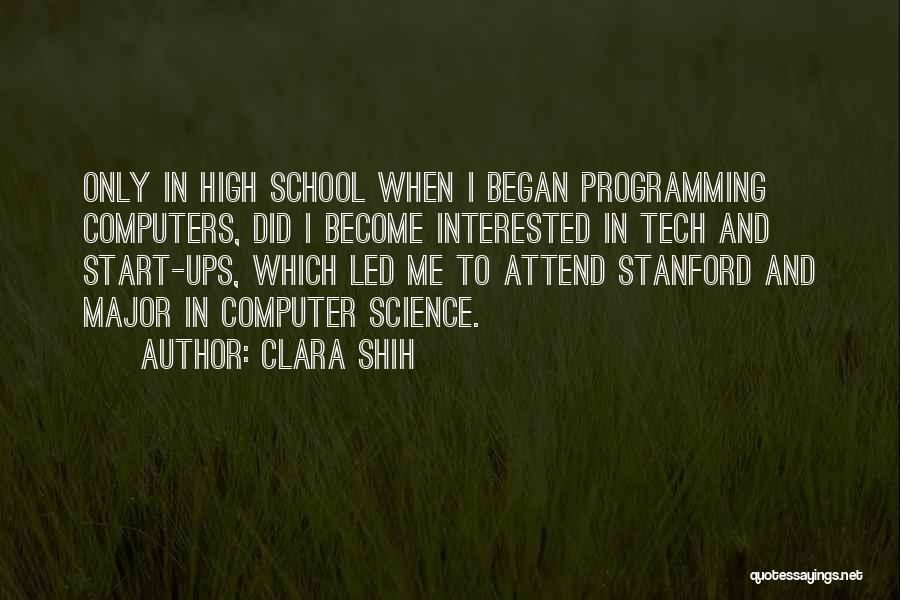 Tech Quotes By Clara Shih
