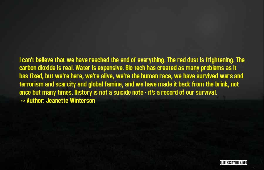 Tech Quotes By Jeanette Winterson