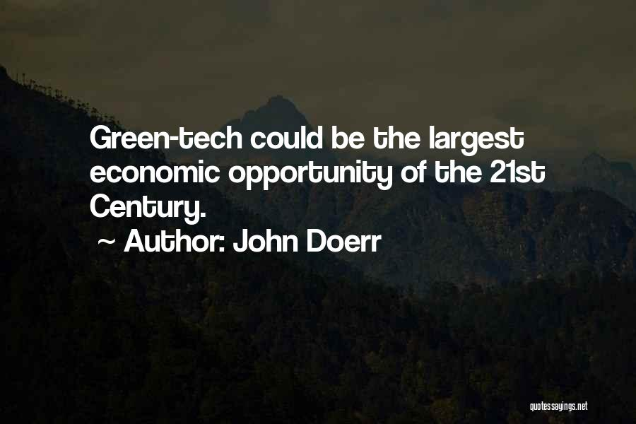 Tech Quotes By John Doerr