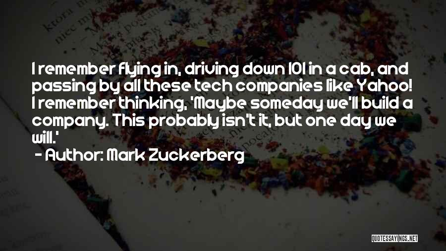 Tech Quotes By Mark Zuckerberg