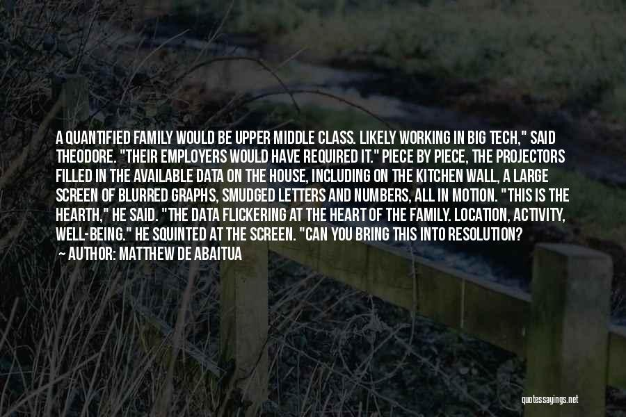 Tech Quotes By Matthew De Abaitua