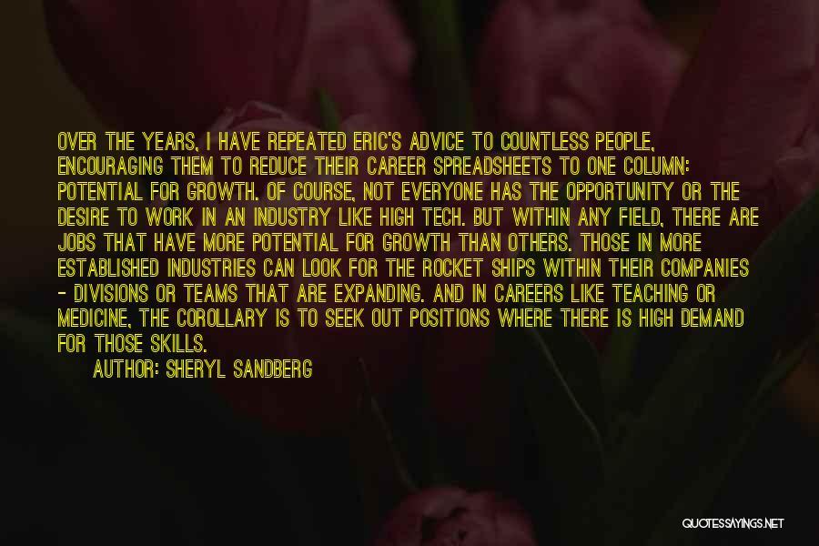 Tech Quotes By Sheryl Sandberg