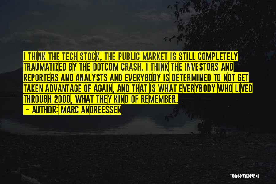 Tech Stock Quotes By Marc Andreessen