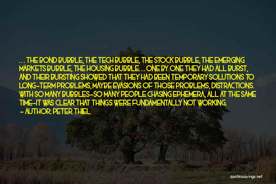 Tech Stock Quotes By Peter Thiel